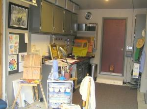 Mike Brouses' studio