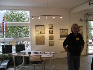 Maria Neary's studio