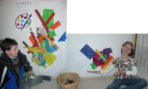 Carol Watkin's studio