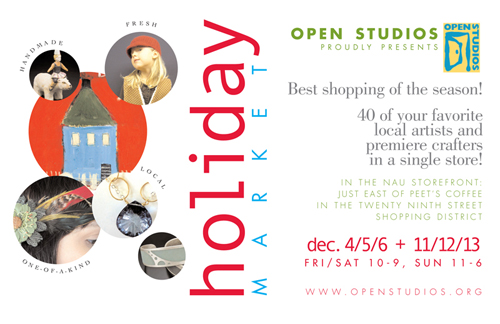 Open Studios Juried Holiday Market